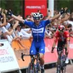 Elia Viviani won the RideLondon-Surrey Classic