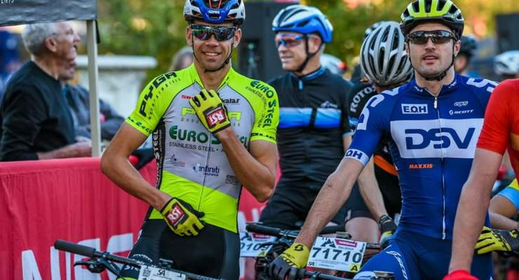 Gert Heyns placed second in the fourth leg of the Trailseeker Series