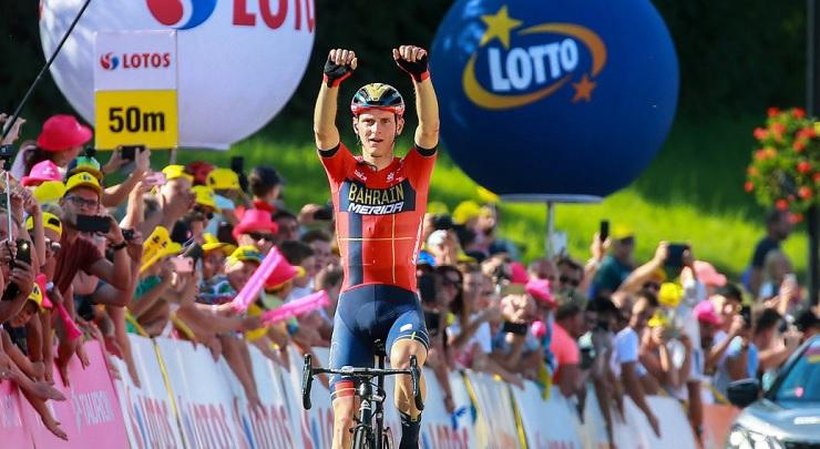 Matej Mohoric Tour de Pologne