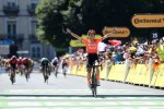Marianne Vos won stage two of the Tour Cycliste Feminin International de l'Ardeche