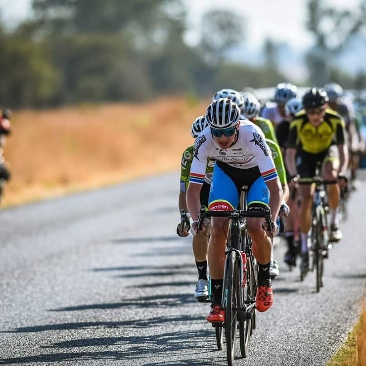 Marc Pritzen won his maiden 947 Ride Joburg title