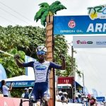 It was a good day on the course of stage six of the Tropicale Amissa Bongo for Biniyam Ghirmay as he managed to claim his second victory in the event in Port Gentil today