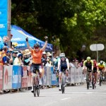 Chloe Hosking won stage one of the Women's Tour Down Under