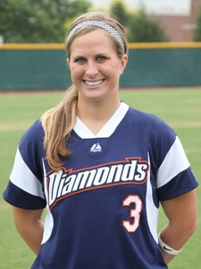 Amanda Williams played for Diamonds in 2010 in the NPF