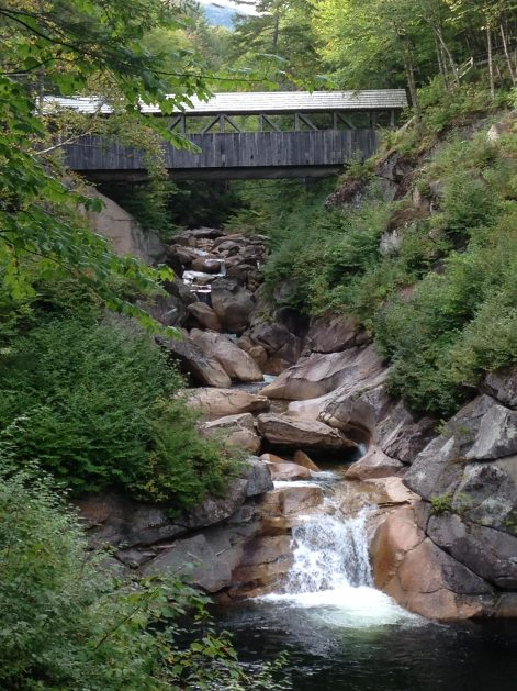 Covered Bridge: Franconia Notch State Park