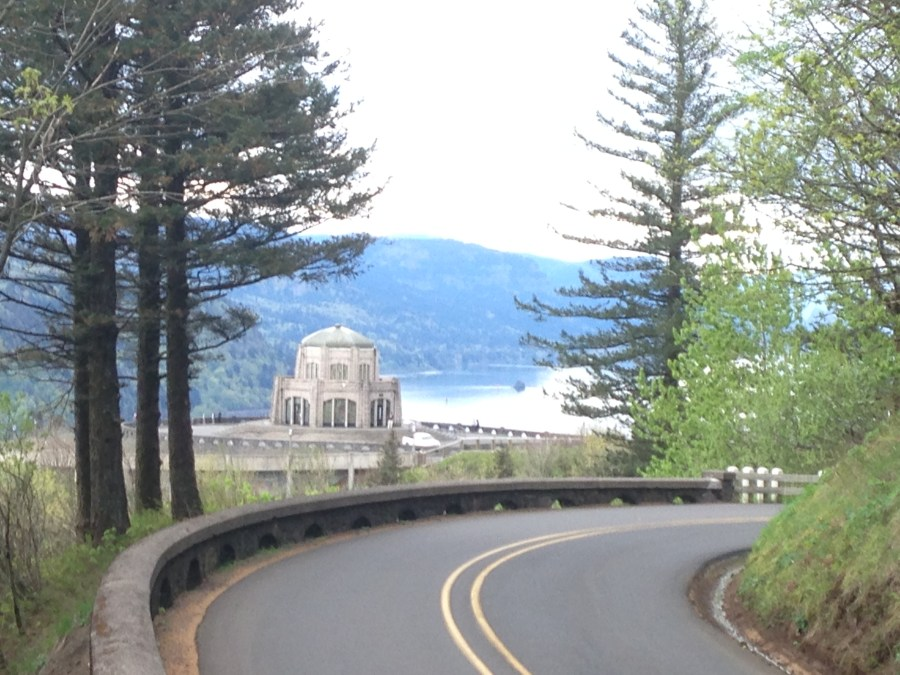 Vista House Columbia River Gorge Historic Route 30