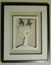 The Birdkeeper framed