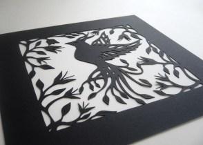 Bird of Paradise (black).