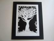 The Birdkeeper A4 papercut