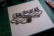 O Rose, thou art sick.