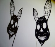 Rabbit Sugar skull mask2