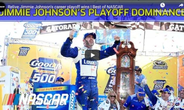 Jimmie Johnson's Best NASCAR Playoff Wins