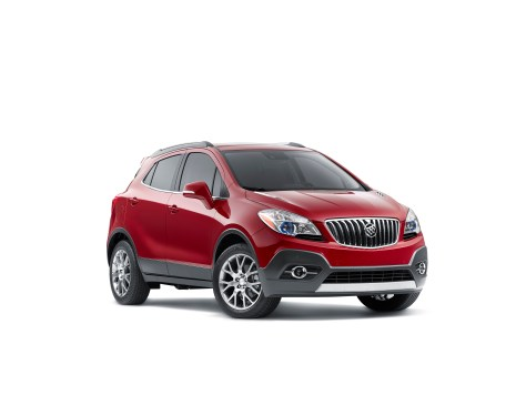 2016 Buick Encore Sport Touring – a more spirited take on the brand's popular crossover. It is distinguished by unique exterior cues and driven by an exclusive, all-new 1.4L turbocharged engine featuring direct injection and stop/start technology.