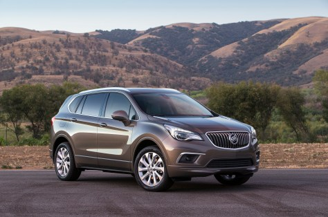 2016 Buick Envision Front 3/4. © General Motors.