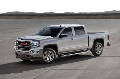 Starting this spring, the new eAssist system is exclusively available on the already well-equipped 2016 Sierra 1500 SLT crew cab 2WD model with the SLT Premium Plus package.