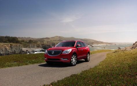 2017 Buick Enclave Sport Touring Edition. © General Motors.