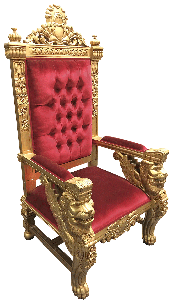 throne chairs for rent set of | event rentals