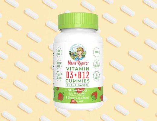 Mary Ruth's vegan vitamin B12 and D3 vitamins