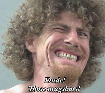Hall of Fame nominees for world's funniest mugshot