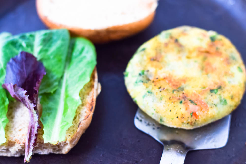 potato and cottage cheese Burger1-1