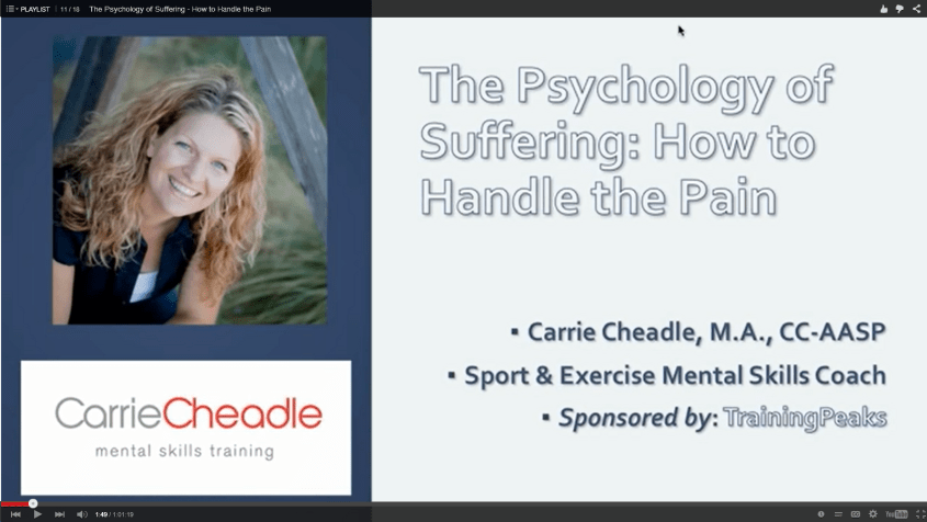 Cheadle on Suffering