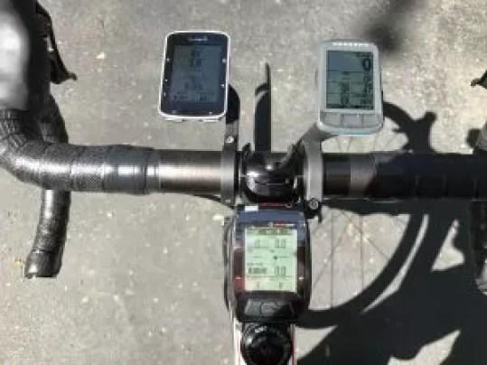 Garmin Edge 520 Wahoo Elemnt BOLT and Joule GPS