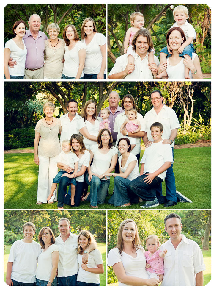Large Family ShootPretoria Family Photographer In The