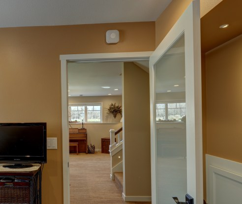 Langhoff Project Room with Nest Protect