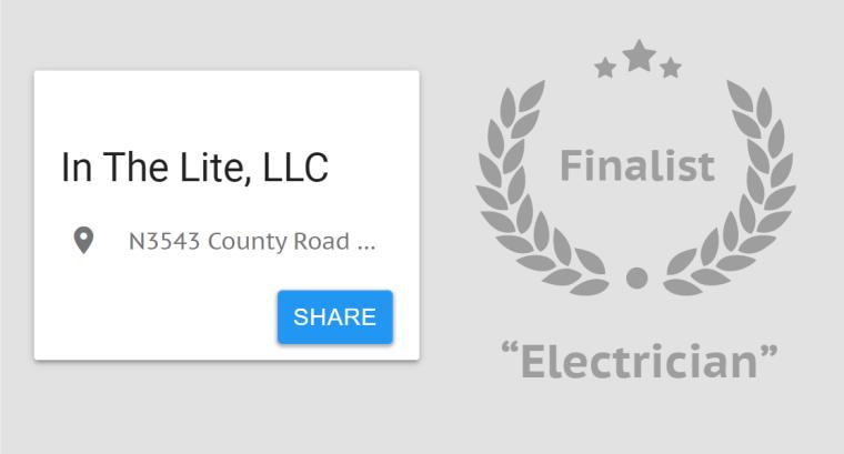Best of Marathon County 2020 Finalist Award
