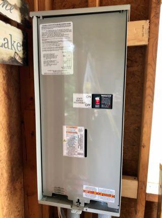 Generator Install | 200 amp Transfer Switch