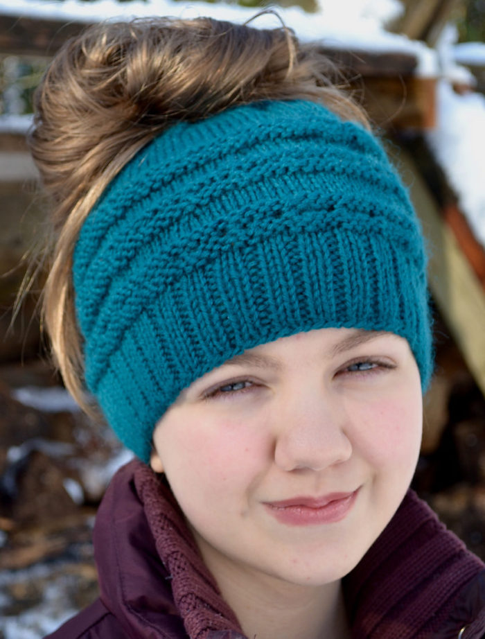 Knitting Pattern For Beanie With Ponytail Hole - Advance ...