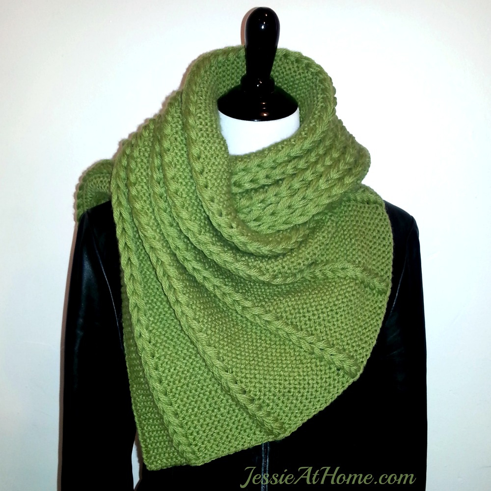 Shawl and Wrap Knitting Pattterns