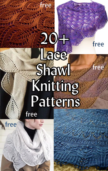 Lace Shawl And Wrap Knitting Patterns In The Loop Knitting