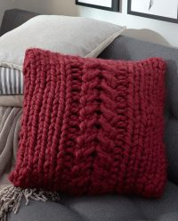 Pillow Knitting Patterns | In the Loop Knitting