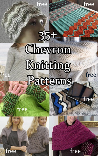 Chevron Knitting Patterns In The Loop Knitting
