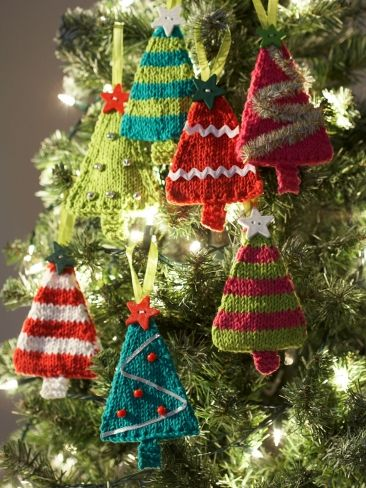 Knitted Christmas Ornaments Patterns