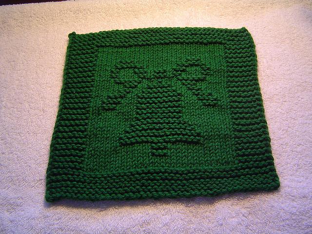Knit Blanket For Sock Monkey Pattern