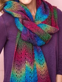 Colorful Scarf Knitting Patterns | In the Loop Knitting