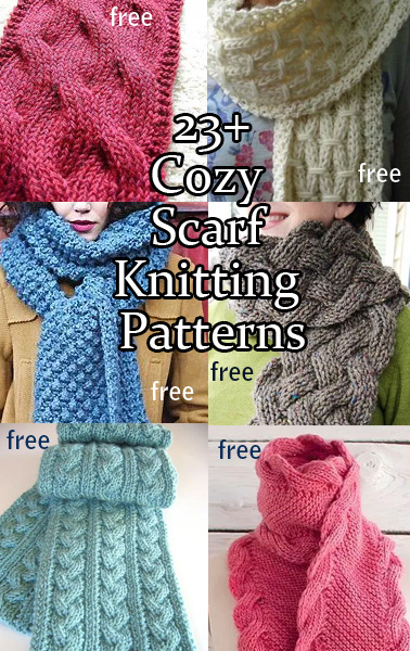 Cozy Scarf Knitting Patterns In The Loop Knitting
