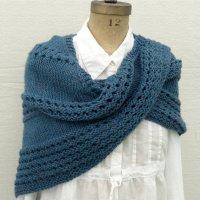 Triangular Prayer Shawl Knit Pattern