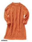 Sweater Dress Knitting Pattern Free