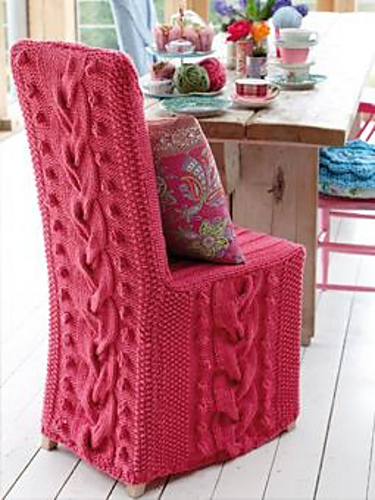 Furniture Knitting Patterns  In the Loop Knitting