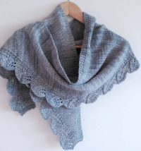 Decorative Edge Shawl and Scarf Knitting Patterns