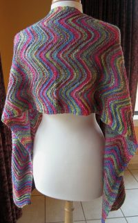 More Easy Shawl Knitting Patterns