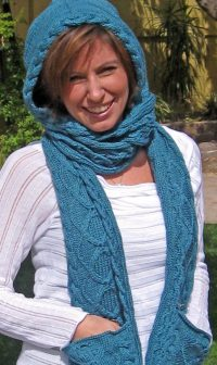 Attached Scarf Knitting Patterns | In the Loop Knitting