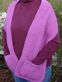Free Crochet Pattern Shawl With Pockets ~ Dancox for