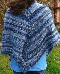 Shawls for Bulky Yarn Knitting Patterns
