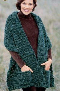 Pocket Wrap Knitting Patterns | In the Loop Knitting