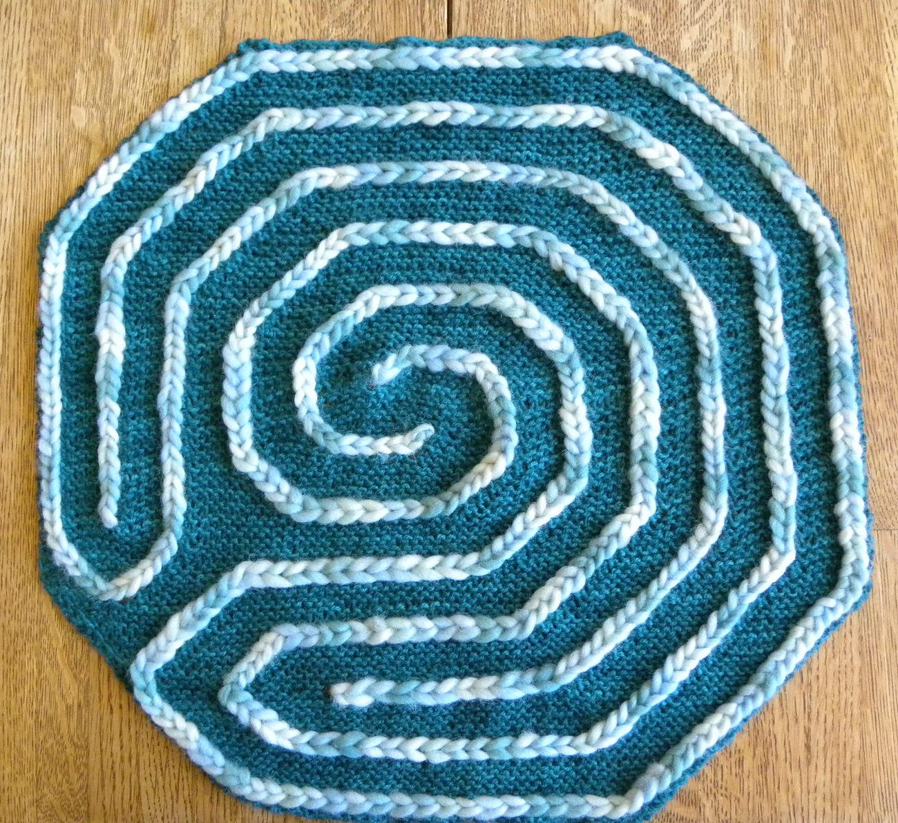 Finger Knitting Easy Patterns