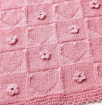On the Go Baby Blanket Knitting Patterns | In the Loop ...